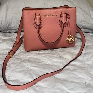MICHAEL Michael Kors Leather Small Camille Satchel
